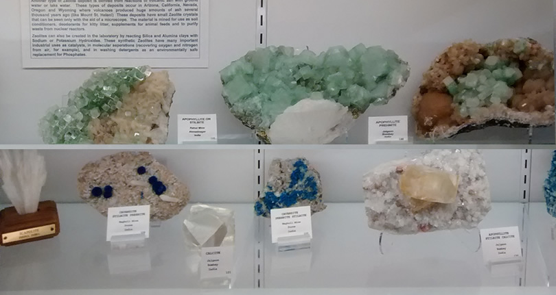 Mineral and Lapidary Museum of Henderson County near Meadowbrook Log Cabin Photo by Mr. Granger