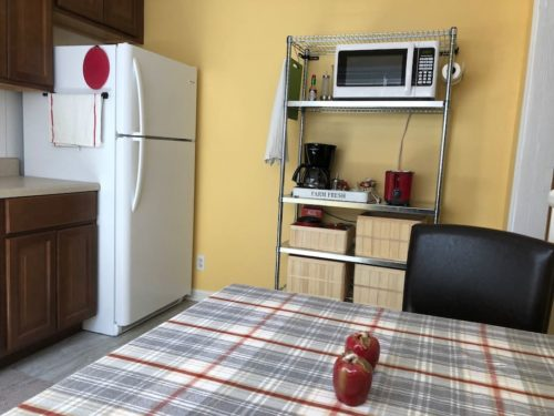 Cheerful new kitchen has everything you need. - Apple Barn Cottage in Flat Rock