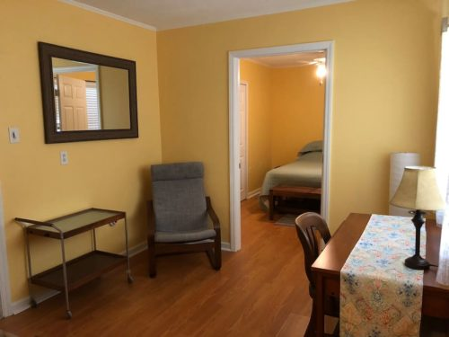 Convenient Office if you have to work while you are here. - Apple Barn Cottage in Flat Rock