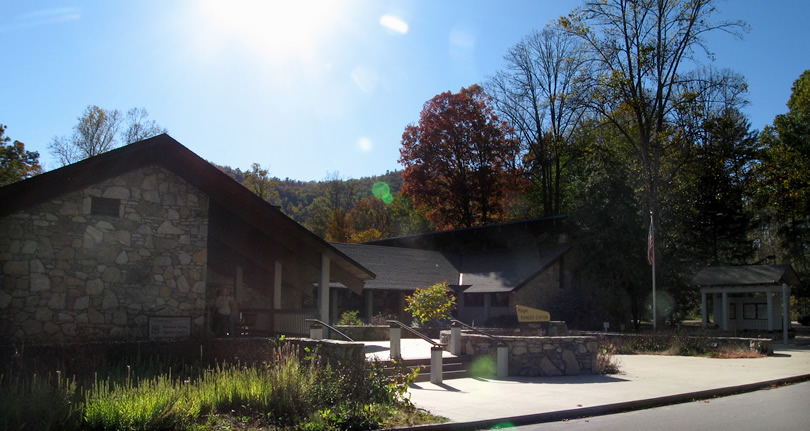 Pisgah National Forest Ranger Station and Visitor Center – Things to do near Meadowbrook Log Cabin