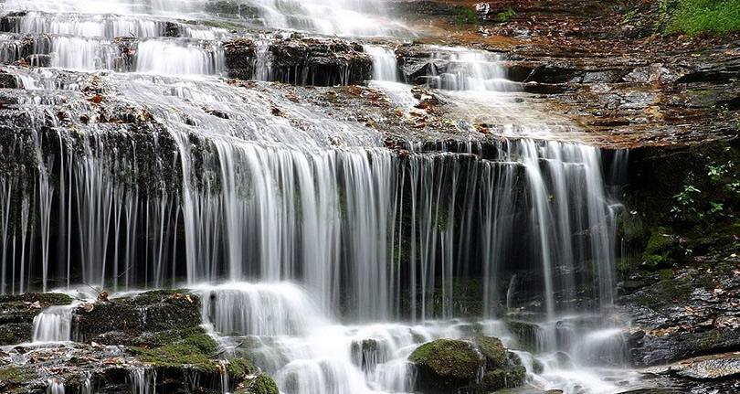 Pearson's Falls & Glen – Near Meadowbrook Log Cabin