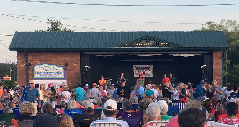 Music On Main Street Free Street Concert Series, Downtown Hendersonville