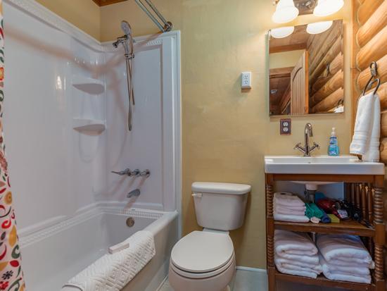 En-suite Bath off Master Bedroom