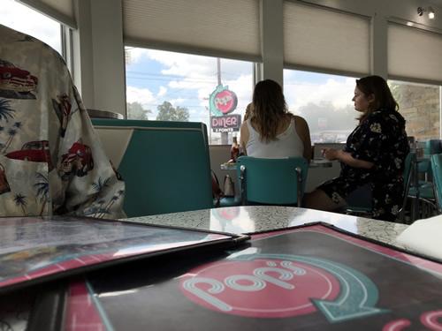 Pop's 5 Points Diner in Hendersonville, NC