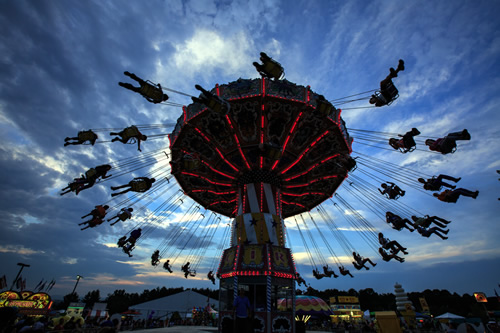 Mountain State Fair near Meadowbrook Log Cabin, Hendersonville, NC Photo by Will Thomas