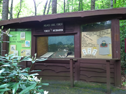 Holmes Educational Forest near Meadowbrook Log Cabin