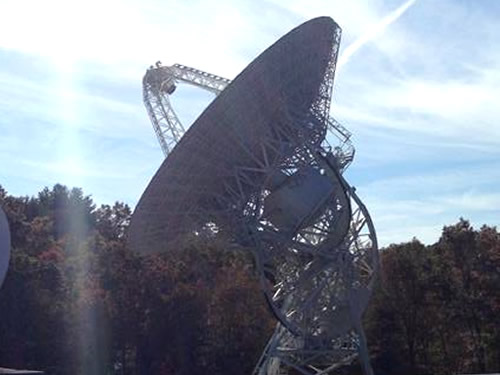 PARI has five radio telescopes. - PARI - Pisgah Astronomical Research Institute - Things to do near Meadowbrook Log Cabin