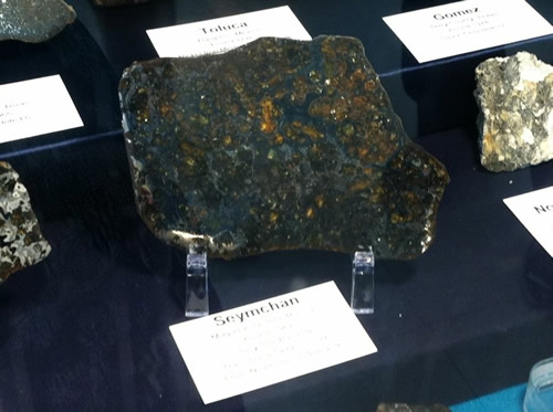 Meteorite Display at PARI - Pisgah Astronomical Research Institute - Things to do near Meadowbrook Log Cabin