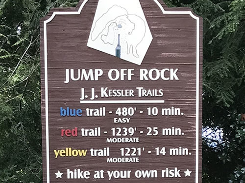 Jump Off Rock Hikes - Jump Off Rock - Laurel Park History Drive to Jump Off Rock - Things to do near Meadowbrook Log Cabin, Hendersonville, NC