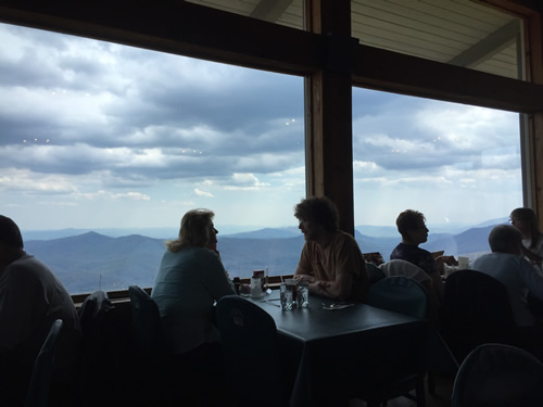 Pisgah Inn Restaurant - Things to do near Meadowbrook Log Cabin