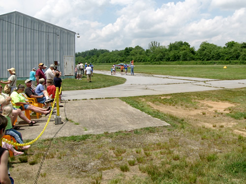 Watching Fly Bys at the Western North Carolina Air Museum Air Fair - Western North Carolina Air Museum and Air Fair – Things to do near Meadowbrook Log Cabin