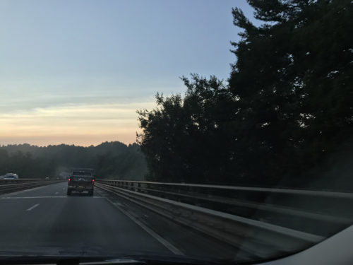 I-26 and the Peter Guice Bridge – Driving to Meadowbrook Log Cabin