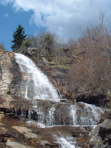Upper Falls in Graveyard Fields - Things to do near Meadowbrook Log Cabin