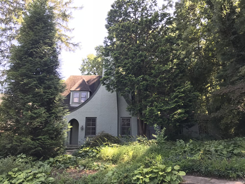 Robert D. Suttenfield House Built by 1926 - Clairmont Drive - Druid Hills Historic District Walking or Driving Tour