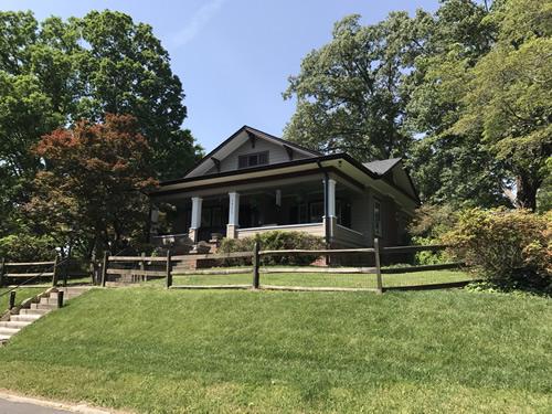 Susan Patton Shepherd House Built by 1926 - Clairmont Drive - Druid Hills Historic District Walking or Driving Tour