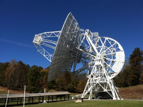 Telescope at PARI - Pisgah Astronomical Research Institute - Things to do near Meadowbrook Log Cabin