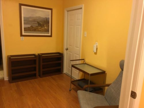 Office area in the Apple Barn Cottage - Apple Barn Cottage in Flat Rock