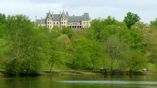 The Lagoon at the Biltmore House - Things to do near Meadowbrook Log Cabin