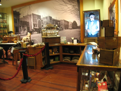 Golden Age: The Shepherd Store Recreation at the Henderson County Heritage Museum in the Henderson County Historic Courthouse – Things to do near Meadowbrook Log Cabin