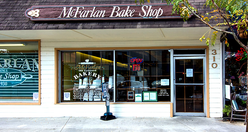 McFarlan Bakery – Things to do near Meadowbrook Log Cabin