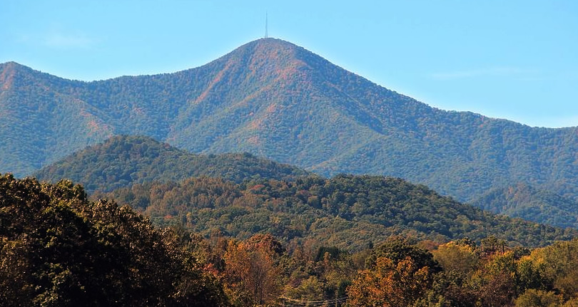 Mount Pisgah near Meadowbrook Log Cabin