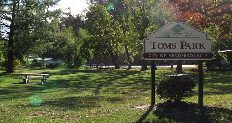 Toms Park, Allen Street Hendersonville , NC