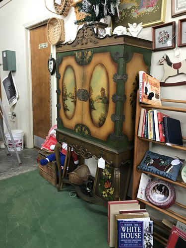 Lots of furniture and more - Needful Things Antique Mall – Shopping near Meadowbrook Log Cabin, Hendersonville, NC