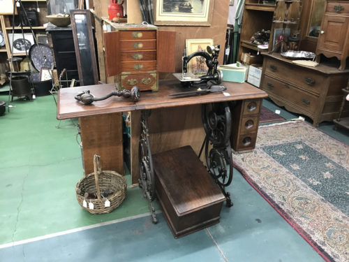Antique Sewing Machine and lots of other stuff - Needful Things Antique Mall – Shopping near Meadowbrook Log Cabin, Hendersonville, NC