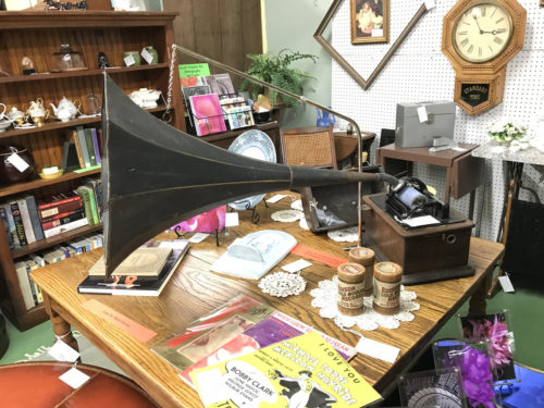 Antique Gramophone and lots of other stuff - Needful Things Antique Mall – Shopping near Meadowbrook Log Cabin, Hendersonville, NC