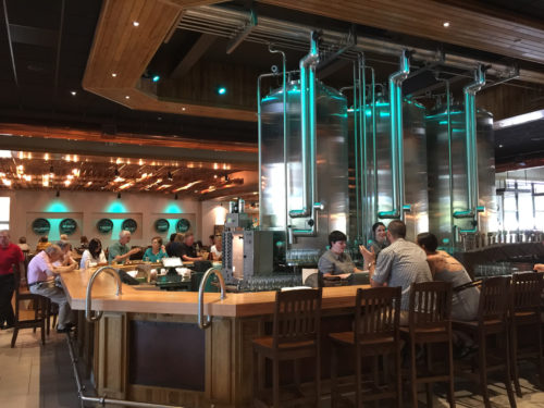 Enjoy a meal at the Mills River Taproom and Restaurant. - Sierra Nevada Brewery - Things to do near Meadowbrook Log Cabin