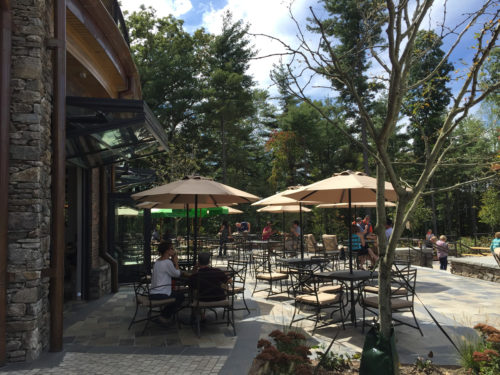Dogs are welcome on the Back Porch and in certain areas of Upper Park. - Sierra Nevada Brewery - Things to do near Meadowbrook Log Cabin