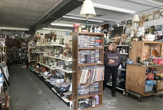 There is an overwhelming amount of stuff - Junk & Disorderly – Indoor Flea Market near Meadowbrook Log Cabin