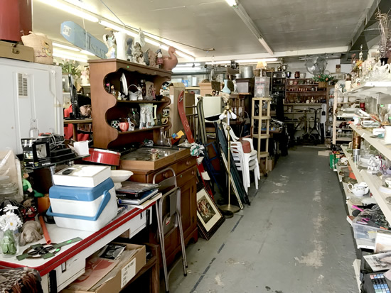 Everywhere you look there is more. - Junk & Disorderly – Indoor Flea Market near Meadowbrook Log Cabin