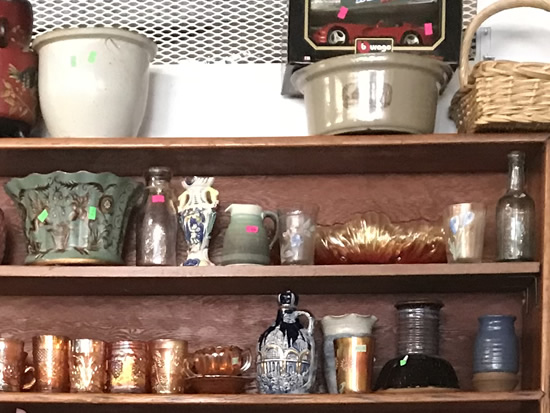If you are a collector, there may be some gems to find. - Junk & Disorderly – Indoor Flea Market near Meadowbrook Log Cabin