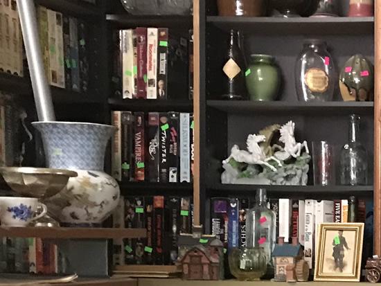 Porcelain and Ceramics, VHS tapes, books... - Junk & Disorderly – Indoor Flea Market near Meadowbrook Log Cabin