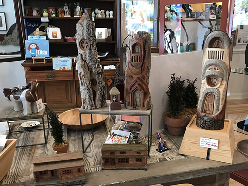 Locally made Crafts at the Firefly Craft Gallery l Firefly Craft Gallery in Historic Flat Rock