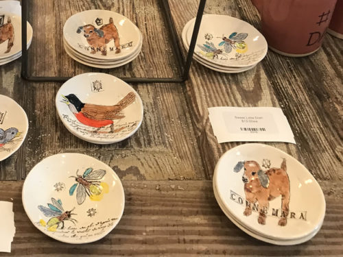 Local Pottery with Carl Sandburg Themes l Firefly Craft Gallery in Historic Flat Rock