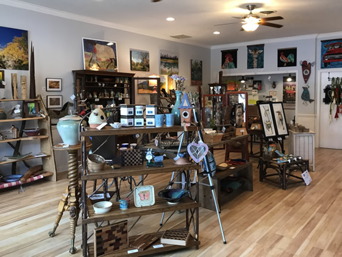 Firefly Craft Gallery in Historic Flat Rock