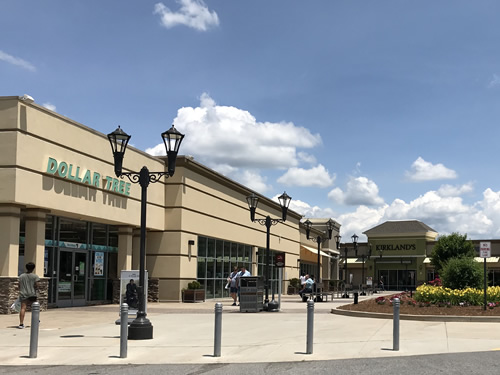 Dollar Tree, Game Outlet and Kirkland's at Field & Stream at Asheville Outlets, Our Local Outlet Mall