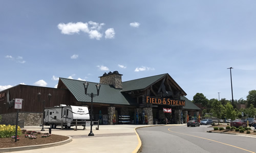 Field & Stream at Asheville Outlets, Our Local Outlet Mall
