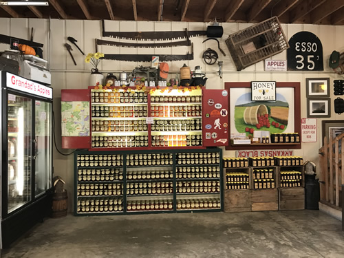 Preserves, Jelly and Jam at Grandad's Apples Country Store