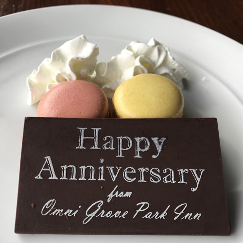 Happy Anniversary French Macarons