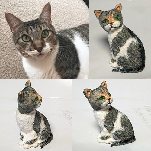 Kat's Kreative Klay Custom Pet Sculpture
