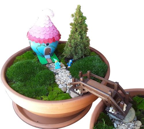 Kat's Kreative Klay Handmade Fairy Houses and Fairy Gardens