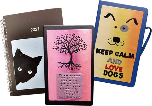 Kat's Kreative Klay Planners, Journals and Sketchbooks