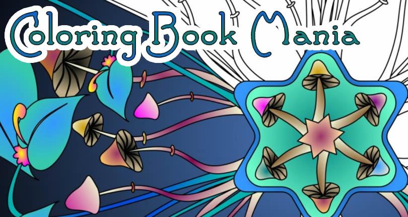 Coloring Book Mania